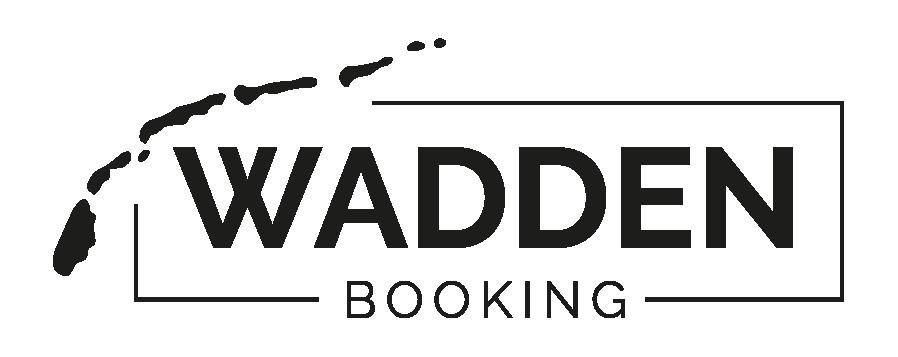 logo Wadden Booking. Wadden Booking is een verhuurplatform voor vakantiehuizen!